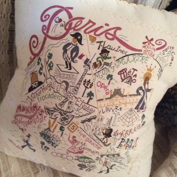Urban Outfitters Other - Free* Paris Pillow with purchase